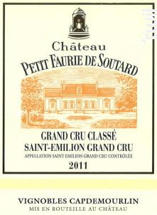 Château Petit Faurie de Soutard - Château Petit Faurie de Soutard - 2011 - Rouge