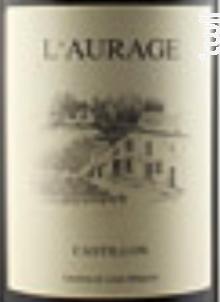 L' Aurage - Domaine de l'Aurage - 2016 - Rouge