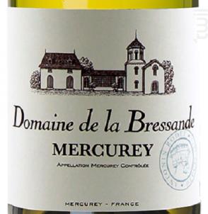 Mercurey Domaine de la Bressande - Antonin Rodet - 2016 - Blanc