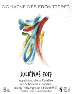 Juliénas - Domaine des Frontières - 2017 - Rouge