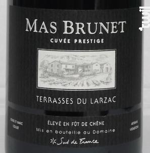 Mas Brunet Cuvée Prestige - Domaine de Brunet - 2015 - Rouge