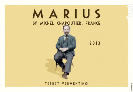 Marius Terret Vermentino - Maison M. Chapoutier - 2017 - Blanc