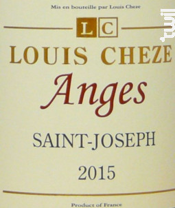 Les Anges Saint-Joseph - Domaine Louis Cheze - 2015 - Rouge