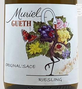 Origin'alsace Riesling - Domaine Gueth - 2017 - Blanc