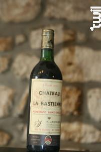 Chateau La Bastienne - Maison François Janoueix - 1979 - Rouge