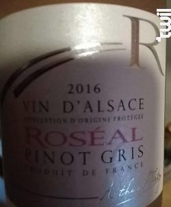 Roséal - Arthur Metz - 2016 - Rosé