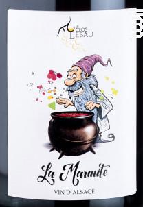La Marmite - Le clos Liebau - 2018 - Blanc