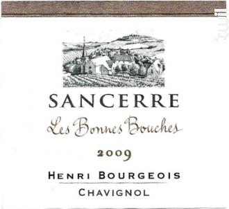 Les Bonnes Bouches - Henri Bourgeois - 2018 - Blanc