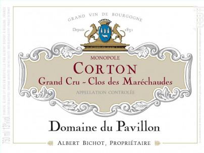 Corton Grand Cru Clos des Maréchaudes Monopole - Domaine du Pavillon - Domaines Albert Bichot - 2014 - Rouge