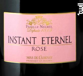 Instant Eternel Rosé - Mas de Cadenet - Non millésimé - Effervescent