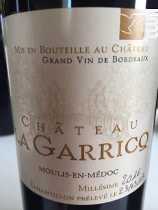 Château La Garricq - Château La Garricq - 2018 - Rouge