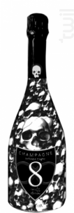 Infinite Eight Brut Cuvée Skull Edition - Champagne Infinite Eight - Non millésimé - Effervescent
