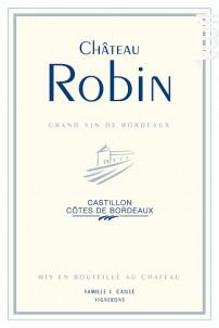 Château Robin - Château Robin - 2000 - Rouge
