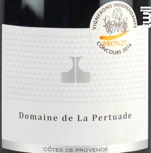 Cuvée du Domaine - Domaine de La Pertuade - 2015 - Rouge