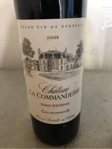 Château la Commanderie - Château la Commanderie - 2013 - Rouge