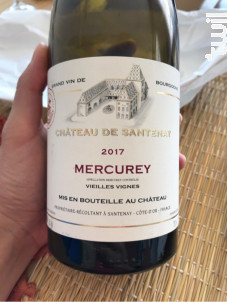 Mercurey Vieilles Vignes - Château de Santenay - 2017 - Rouge