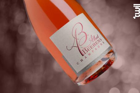 Cuvée Rosé Brut - Champagne Albert Beerens - Non millésimé - Effervescent