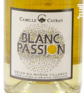 Blanc Passion - Cave de Cairanne - 2020 - Blanc