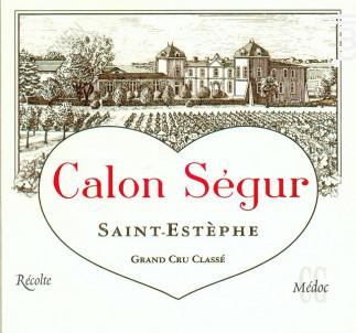 Château Calon Ségur - Château Calon Ségur - 2012 - Rouge