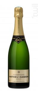 Saveur - Champagne Mathieu-Gandon - Non millésimé - Effervescent