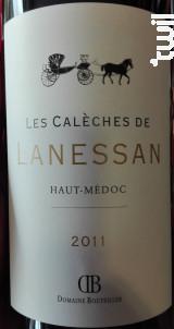 Les Calèches de Lanessan - Château Lanessan - 2011 - Rouge