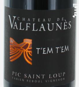 Tem Tem - Chateau De Valflaunes - 2017 - Rouge