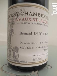 Gevrey-Chambertin Premier Cru Lavaux Saint-jacques - Dugat-Py - 2004 - Rouge