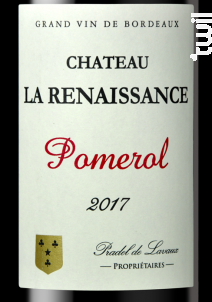 Château la Renaissance - Château la Renaissance - 2017 - Rouge