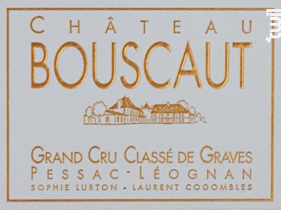 Château Bouscaut - Château Bouscaut - 2013 - Blanc
