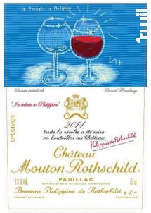 Château Mouton Rothschild - Château Mouton Rothschild - 2014 - Rouge