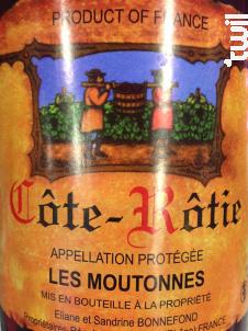 Les Moutonnes - Domaine Bonnefond Eliane - 2015 - Rouge