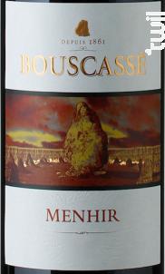 Menhir - Château Bouscassé - 2007 - Rouge