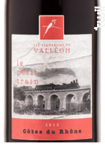 Petit Train - Les Vignerons de Valleon - 2019 - Rouge