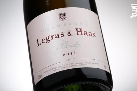 Rosé Brut - Legras & Haas - Non millésimé - Effervescent