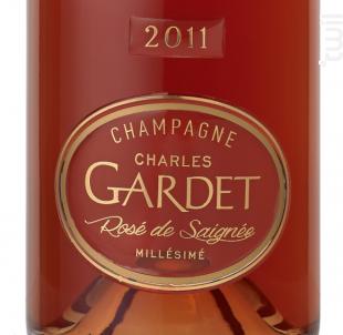 PRESTIGE CHARLES GARDET ROSÉ DE SAIGNÉE MILLÉSIME 2011 - Champagne Gardet - 2011 - Effervescent