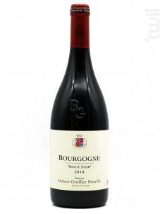 Bourgogne Pinot Noir - Domaine Groffier Robert Père et Fils - 2018 - Rouge