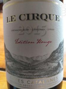 Le Cirque - Vignerons de Tautavel Vingrau - 2016 - Rouge