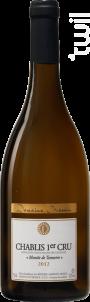 Chablis 1er Cru Montée de Tonnerre - Domaine Massin - 2015 - Blanc