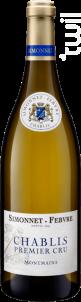 Chablis 1er Cru Montmains - Simonnet Febvre - 2015 - Blanc
