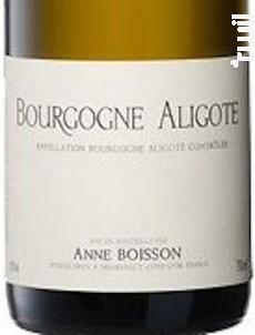 BOURGOGNE Aligote - Domaine Jean Pascal et Fils - 2016 - Blanc