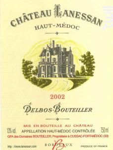 Château Lanessan - Château Lanessan - 2002 - Rouge