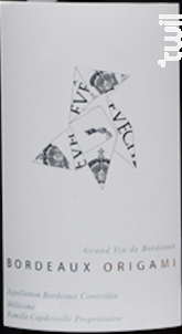 Bordeaux Origami (Magnum) - Château l'Évêché - 2016 - Rouge