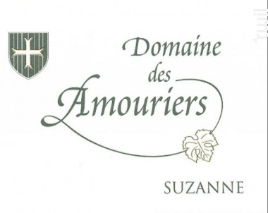 Suzanne - Domaine des Amouriers - 2016 - Rouge