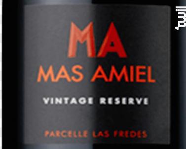 Vintage Reserve - Mas Amiel - 2014 - Rouge
