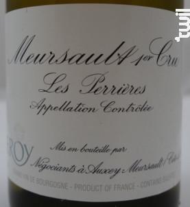 Meursault Premier Cru Les Perrières - Domaine Leroy - 2010 - Blanc