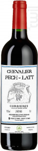 CHEVALIER PECH-LATT - Chateau Pech-latt - 2016 - Rouge