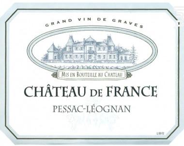 Château de France - Château de France - 2013 - Rouge