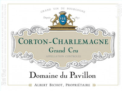Corton-Charlemagne Grand Cru - Domaine du Pavillon - Domaines Albert Bichot - 2018 - Blanc