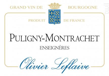 Puligny-Montrachet Enseignères - Maison Olivier Leflaive - 2014 - Blanc