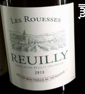 Reuilly - Domaine des Rouesses - 2018 - Blanc